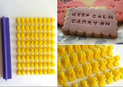 Letter Flag Silicone Cake Decorating Baking Press Stamp Cookie Chocolate Mould