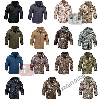 Airsoft Outdoor Special Forces Tactical Sun Protection Coat Jacket Hooded Hiking