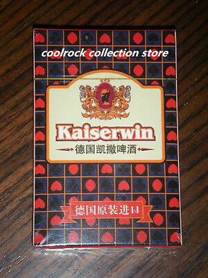 China Kaiserwinr beer playing card sealed deck