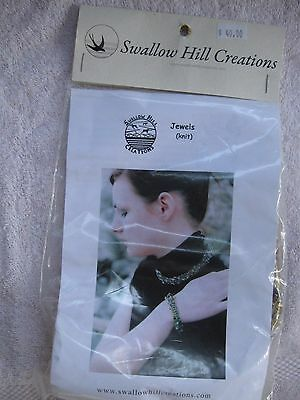 Swallow Hill Creations -Jewelry  Knitting  Kit - Beaded Necklace And Bracelet