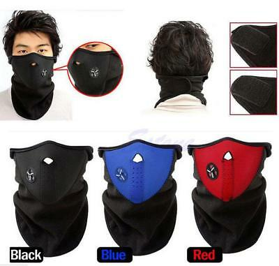 Neoprene Motor Bike Bicycle Cycle Ski Snowboard Fishing Neck Warm Half Face Mask