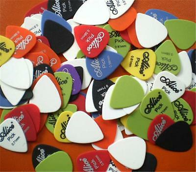 25pcs Acoustic Electric Guitar Picks Plectrums Assorted 6 thickness Vintage Bass