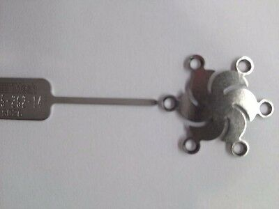Medtronic 015-262-14 TiMesh Plate, Burr Hole 14mm Synthes Stryker Leibinger