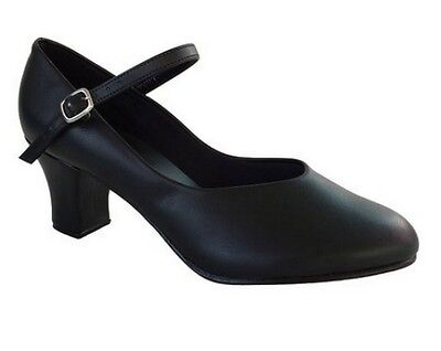 "So Danca CH52 Women's Size 4M Black 2"" Heel Character Shoe (WITH DEFECTS)"