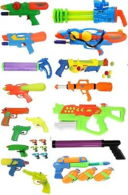 Water Gun Pistol Bazooka Shooter Foam Garden Fun Pool Beach Outdoor