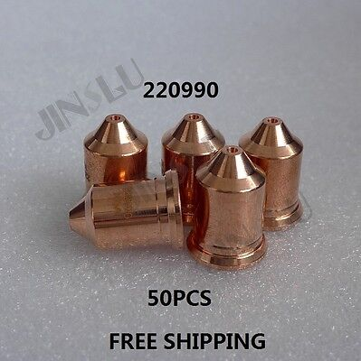 220990 50PK After Market High Quality Plasma Cutting Consumables Nozzle
