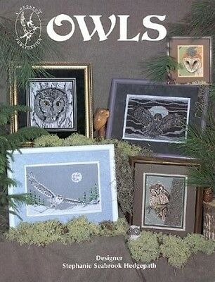 Pegasus Originals Owls Counted Cross Stitch Chartpack. Delivery is Free