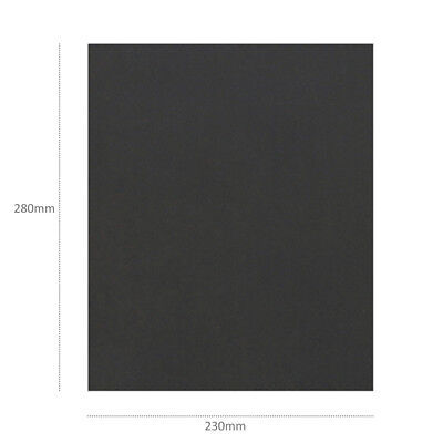 60-2000 Grit Wet Dry Waterproof Sandpaper Sheet Abrasive A4 Sanding Kraft Paper