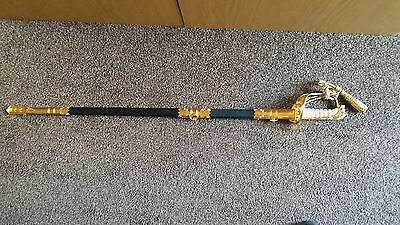 Very Nice British Royal Navy Reserve Officer Sword - Pristine Condition