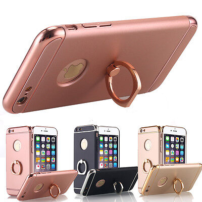 Thin Shockproof Hybrid Ring Holder Case Cover For iPhone XS Max XR X 6S 7 8 Plus