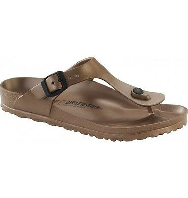 Birkenstock EVA Gizeh WATERPROOF $66rrp - Metallic Copper - BNIB 1001506