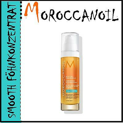 (€54/100ml) MOROCCANOIL Arganöl SMOOTH Blow-Dry Föhnkonzentrat 50ml + BONUS