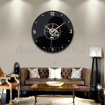 diy 3d horloge murale moderne design miroir pr decor. Black Bedroom Furniture Sets. Home Design Ideas