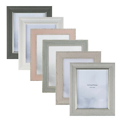 Cornwall Range Vintage Antique Style Distressed Picture Photo Frame Various Size
