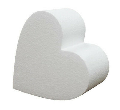 8 Inch Heart 4 Inch Deep Professional Cake Dummy