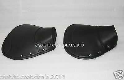 Lambretta Front Seat Cover Rear Seat Cover Complete Black Li GP DL SX TV