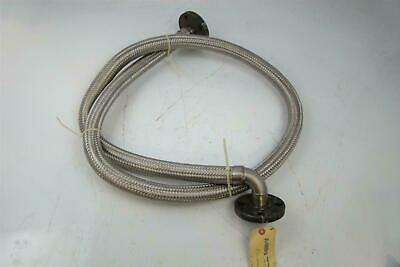 "Mcgill Hose - Novacor  1"" X 96"" Flexible Metal Hose 1"" Id With Flanged Ends"