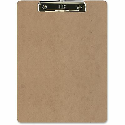 """Officemate Low-profile Clipboard 1"""" Paper Capacity 9""""x12-1/2"""" Brown 83219"""