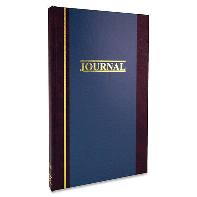 """Wilson Jones Account Book S.E. Ledger-Ruled 150 Pages 11-3/4""""x7-1/4"""" Blue"""