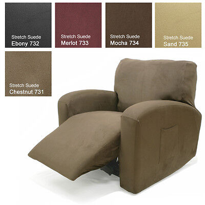 Stretch Suede Recliner Cover