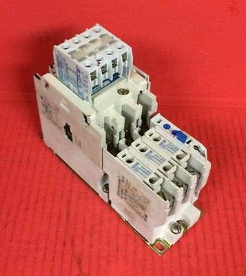Cutler-Hammer Eaton Starter AN16DNO with Auxiliary Contact C320KGT15 & Relay
