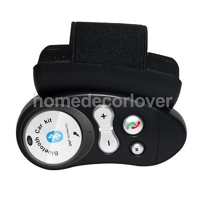 Car Steering Wheel Wireless Bluetooth Remote Control Handsfree Microphone