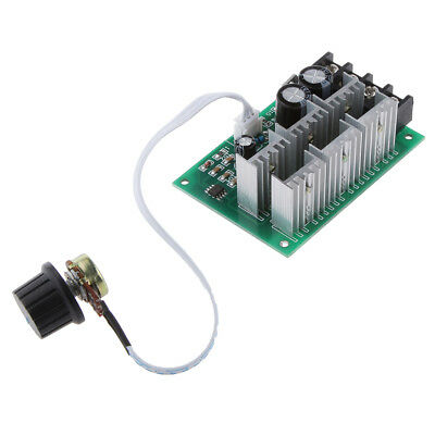 10-60V 2000W DC Motor Speed Controller PWM Regulator Switch Adjustable