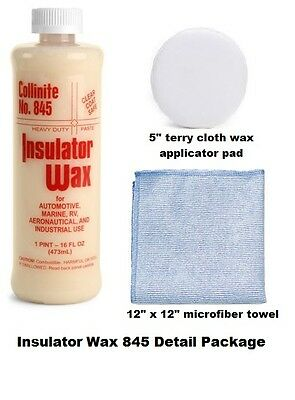 Collinite 845 Insulator Wax Detail Package FREE SHIPPING