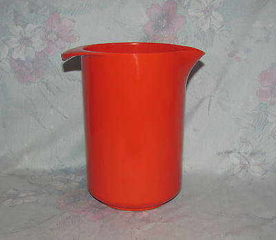 Rosti Denmark Red 1 Litre Pitcher - Midcentury Modern - Utensil Holder