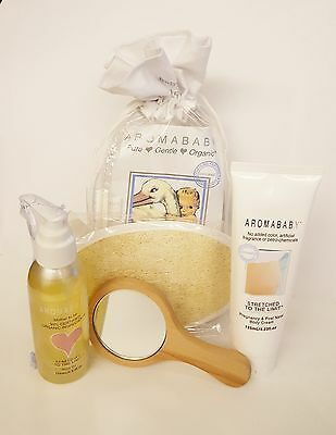 Aromababy Baby Pregnancy Gift Pack Organic Ethical Natural Baby Shower AUS Made