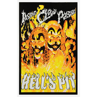 Insane Clown Posse Blacklight Poster