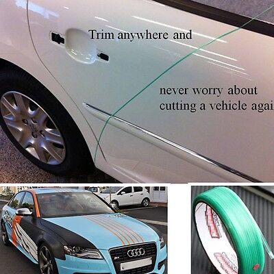 Fit any car Viper Green cutting tape Wrap film Car wrapping tools Acrylic 50Mete
