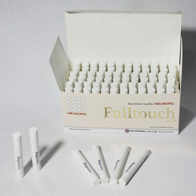 HAGOROMO Fulltouch White Color Chalk 72 Pieces