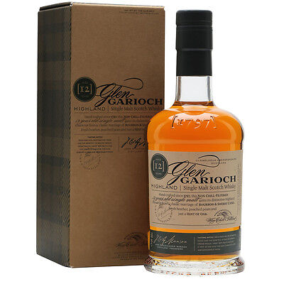 Glen Garioch 12 Year Old  Single Malt Scotch Whisky 700mL