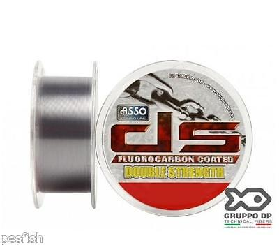 Sedal con Fluorocarbono Asso Double Strength 100m 0,40mm 21kg