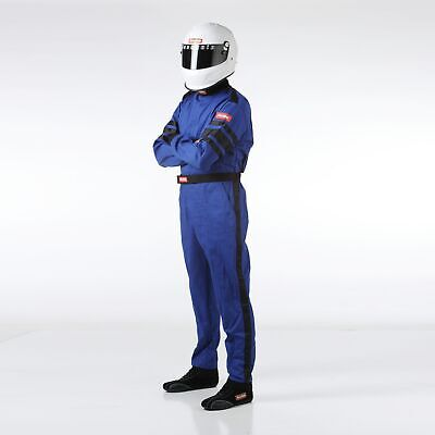 RaceQuip 110022 Racing Driver Suit Blue Small