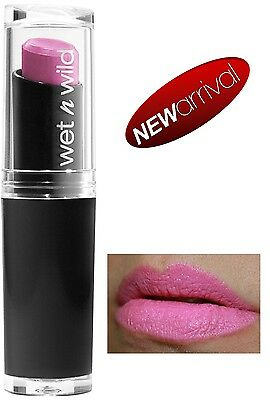 WET N WILD Mega Last Lip Color Lippenstift (Dollhouse Pink) NEU&OVP