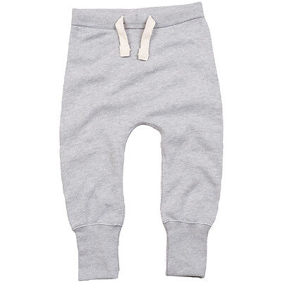 Babybugz Baby Lose Fit sweatpant Unisex Boys Girls Comfy Toddler Plain Tracksuit