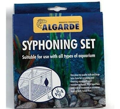 Algarde Syphoning Set - For All Types Of Aquariums