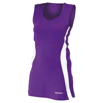 Gilbert GB001 Netball Eclipse Dress Stretch Fabric Scoop Neck Comfort SportsWear