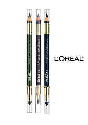 L'OREAL COLOR RICHE LE SMOKY PENCIL EYELINER AND SMUDGER Choose your colour
