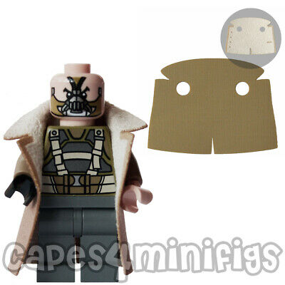 CUSTOM coat - ideal for your Lego Bane 76001 Batman character. CAPE ONLY.