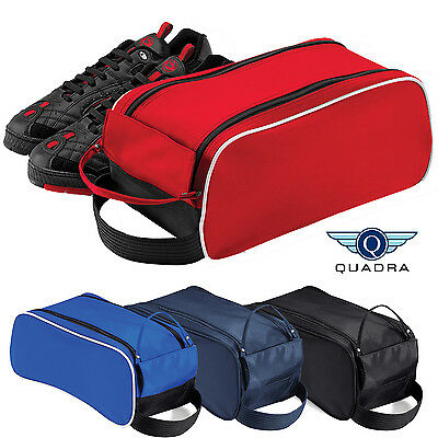 Quadra Sports Outdoor Shoe Bag Gym Football Rugby Golf Boot Bag Wipe Clean New