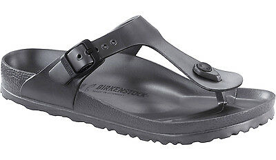 Birkenstock EVA Gizeh WATERPROOF - Metallic Anthracite (Gun Metal) BNIB
