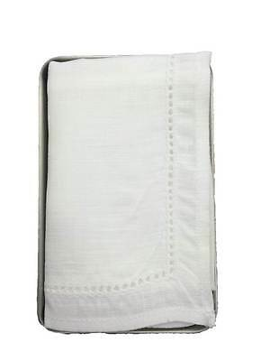 Thomas Ferguson Ladies Irish Linen Boxed Handkerchief Plain Lace
