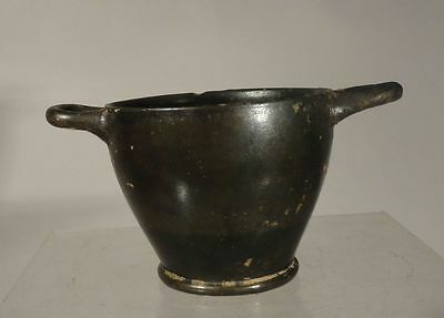 Antique Early Greek Roman Classical Apulian Skyphos Cup Antiquity GrecoRoman