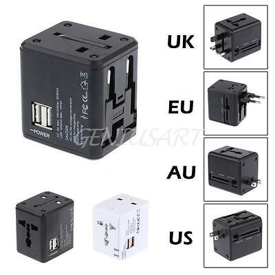 AU UK US EU Plug Adaptador Corriente pared Enchufe Chino a Salida Enchufe