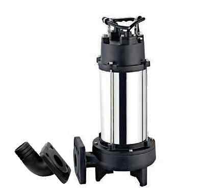 IBO Heavy Duty 1.8KW ULTIMATE GRINDER Submersible Sewage Dirty WATER PUMP (400V)