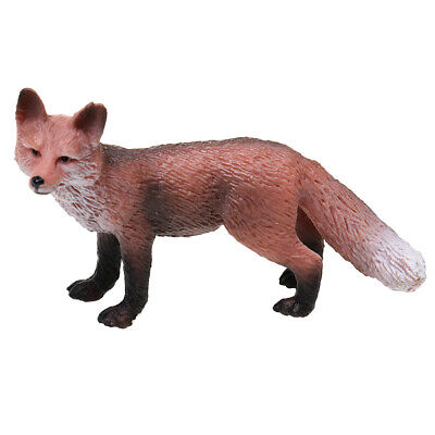 Realistic Red Wild Zoo Animal Model Figure Kids Educational Toy Gift