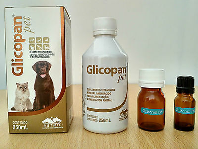 Glicopan Pet from Vetnil - Vitamins & Supplements for dogs,cats,birds,reptiles